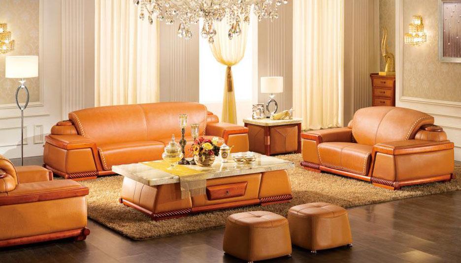 真皮沙发怎么选?