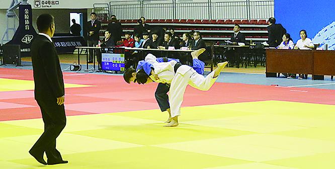第24届省运会柔道预赛开赛