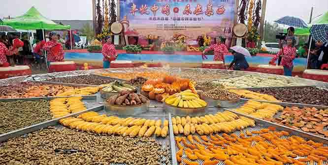 """乡土文化大餐飨群众 我市举办首届""""中国农民丰收节"""""""