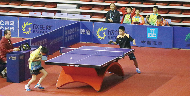 省第24届运动会乒乓球比赛在我市开赛