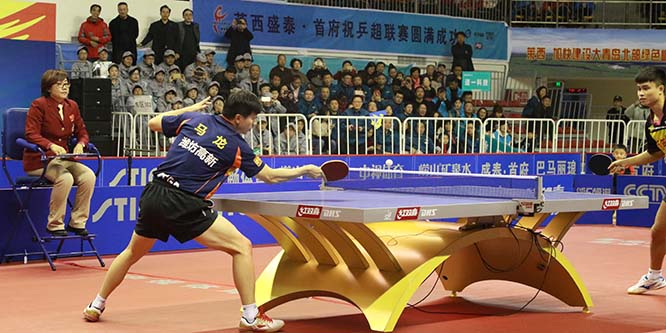 乒乓球赛事盛宴中国乒超联赛澳门永利网上娱乐赛区今日开赛
